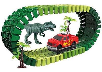 Pista Dino Track Car 52 Peças Art Brink