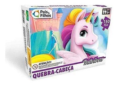 Quebra Cabeça Rainbow - 150 peças Pais e Filhos