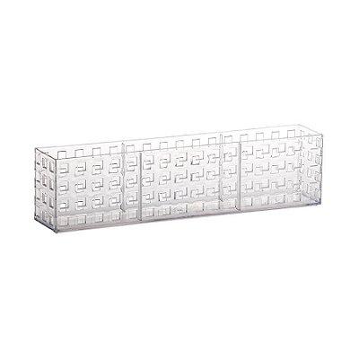 Organizador Empilhável Quadratta Paramount 32 x 5,7 x 8 cm