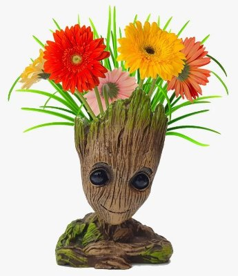 Vaso Cachepot Baby Groot 14cm