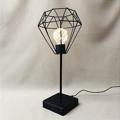 Luminária Diamante 39 x 18cm