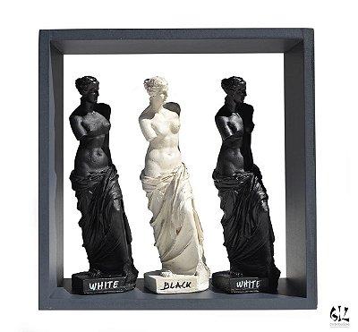 Vênus na Caixa - Trio Black / White