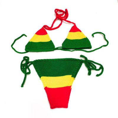 Biquíni Crochê Reggae - Belli Roots