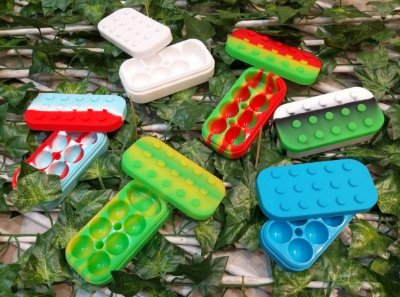 Pote de Silicone - Slick Oil LEGO GRANDE