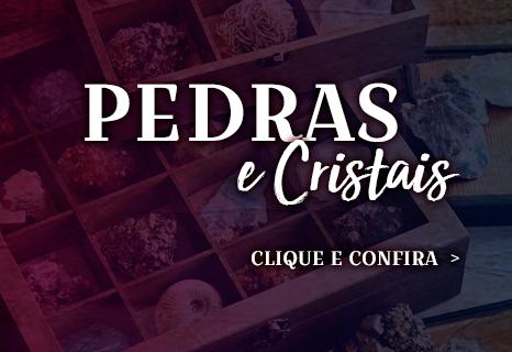 Mini Pedras e Cristais
