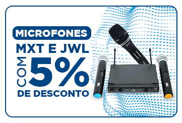 5% OFF - Microfones - 05/21