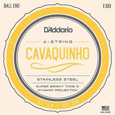 Encordoamento D'addario Para Cavaquinho EJ93 11 13 23W 28W CAVACO