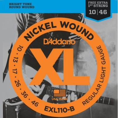 Encordoamento D'addario Para Guitarra EXL110-B
