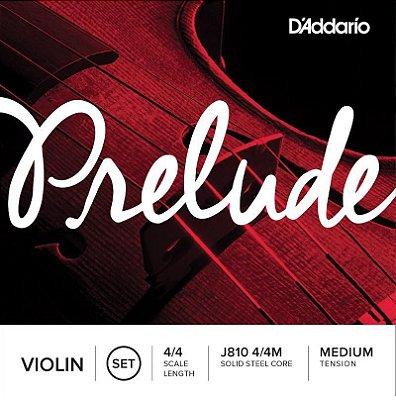 Encordoamento D'addario Prelude Violin - Corda para Violino J810 4/4M