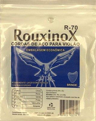 Encordoamento ROUXINOX Cordas para Violão R-70