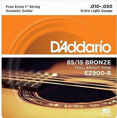 Encordoamento D'addario Para Violão EZ900-B