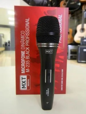 Microfone Black  M-235