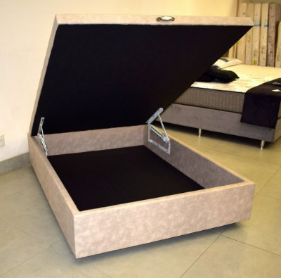 Cama Box Baú Casal 128x188