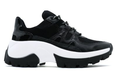 Tênis Chunky Dad Sneaker Flatform Tratorado Via Marte 20-7604 Feminino - Preto
