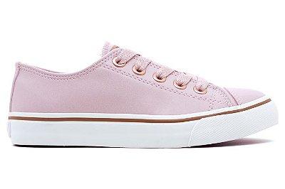 Tênis Capricho Shoes Like Class CP0542 Feminino - Rose com Cobre