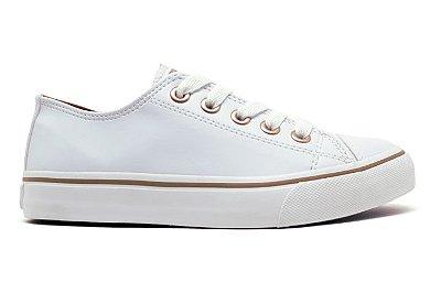 Tênis Capricho Shoes Like Class CP0542 Feminino - Branco