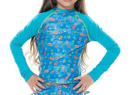 Blusa UV Raglan Infantil