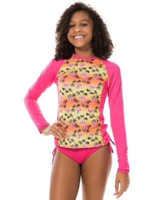 Blusa UV Raglan Teen