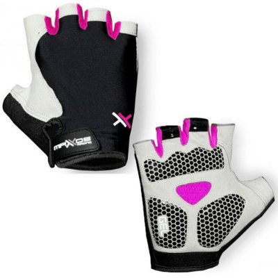 Luva Mattos Racing Short Preto e Pink