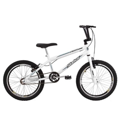 Bicicleta Aro 20 Status Cross Aero Branco