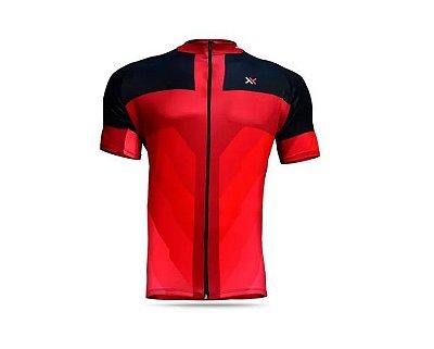 Camisa Mattos Racing Bike Vermelho e Preto