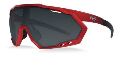 Óculos HB Spin Grand Rage Red e B Gray Cristal