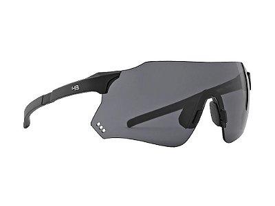 Óculos HB Quad R Matte Black Gray