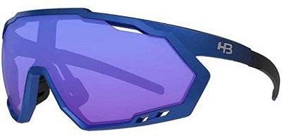 Óculos HB Spin Grad Mat Blue S Blue Chrome