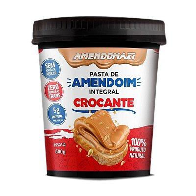 Pasta de Amendoim 500g Integral Crocante