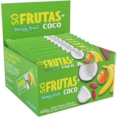 Barra So Frutas 20g Coco Desidratado, Banana, Tamara e Damas