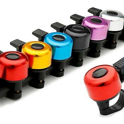 Buzina Campainha Aço e Plástico Sortidos Coloridos