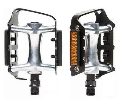 Pedal 9/16 Absolute Nero Plataforma Aluminio e Preto