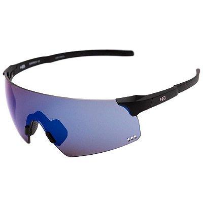 Óculos HB Quad R Matte Black Blue Chrome