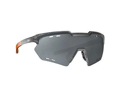 Óculos HB Shield Compact M Matte Onyx Silver