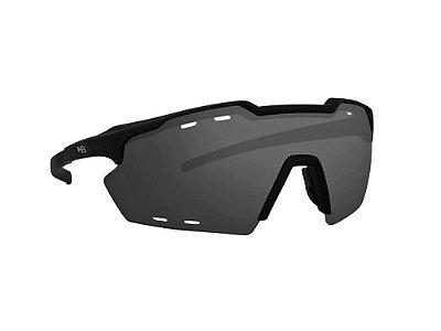 Óculos HB kit Shield Evo R Gray Silver