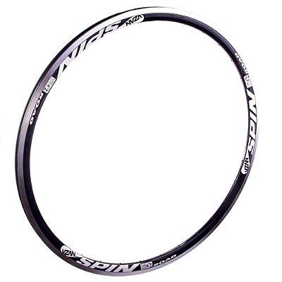 Aro 700 36F Spin V-brake Aluminio Preto