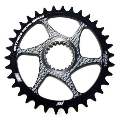 Coroa 36 Dentes Direct Mount Tipo Shimano Offset 3mm Nottable Narrow Wide CDSH334PT