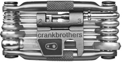 Ferramenta Jogo Crank Brothers Multi 17 Prata
