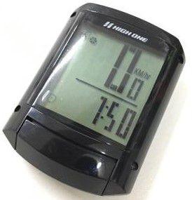 Ciclocomputador 15F High One Com Luz Preto HOCIC0003