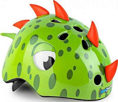 Capacete Infantil Dinossauro Kidzamo