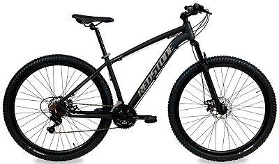 Bicicleta Aro 29 Redstone Chroma 21V Preto Fosco