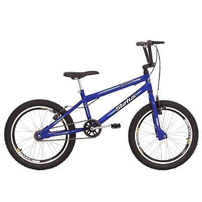 Bicicleta Aro 20 Status Cross Azul