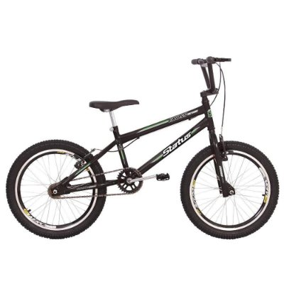 Bicicleta Aro 20 Status Cross Grafite