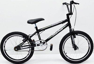 Bicicleta Aro 20 Status Cross Preto Fosco