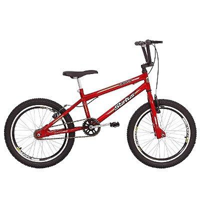 Bicicleta Aro 20 Status Cross Vermelho