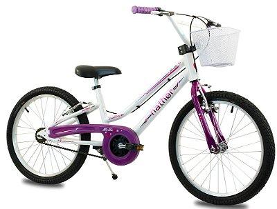 Bicicleta Aro 20 Nathor Bella Rosa
