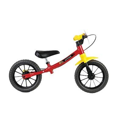 Bicicleta Balance Nathor Fast Vermelho, Amarelo e Preto