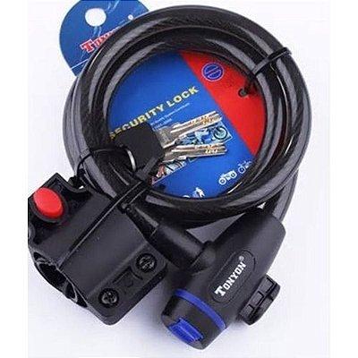 Cadeado Espiral CHAVE 12X1200 Ilumi 588 H1704