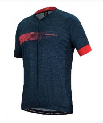 Camisa Free Force Sport Bit Azul Escuro