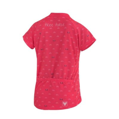 Blusa Free Force Infantil Cycles Coral